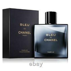 BLEU DE CHANEL parfum pour homme 150ml/ 5oz Limited Edition Authentic New In Box