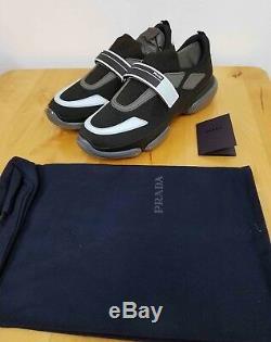 Brand New In Box 100% Authentic Prada Cloudbust Sport Knit Sneakers Prada Size 7