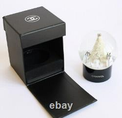CHANEL Christmas Tree with Bags Authentic Holiday Snow Globe + Box NEW