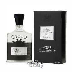 CREED AVENTUS for MEN 3.3/3.4 oz (100 ml) EDP Spray Authentic NEW in BOX