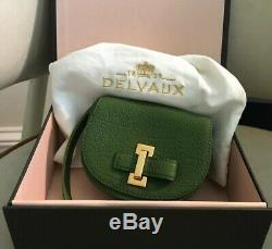 Delvaux La Mitin collection Card Case. New In Box Authentic