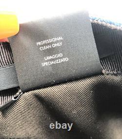 Gucci Authentic GG Logo Denim Baseball Cap Hat Unisex US S With Box Receipt NWT