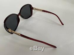 Gucci Oversized Women Sunglasses With Gg Logo New With Box 100% Authentic