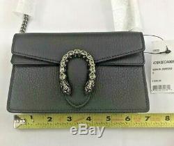 Gucci dionysus Leather Super MINI Bag Authentic NEW IN BOX