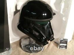 In BoxAuthentic Star Wars Rogue One Death Trooper HelmetNissanGentle Giant