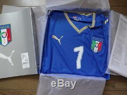 Italy #7 Del Piero 100% Authentic Player Issue Jersey 2008/09 Home XL BNWT BOX