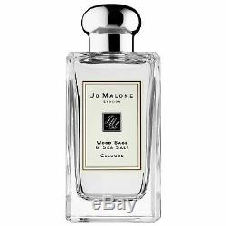 Jo Malone Wood Sage & Sea Salt Cologne 100 ml 3.4 fl. Oz. New In Box Authentic