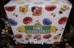 Kaws X UNIQLO Sesame Street LIMITED Complete Box & Special Item 100% AUTHENTIC