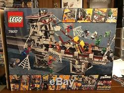 Lego Spider-man Ultimate Bridge Battle 76057 Retired Authentic Marvel Opened Box