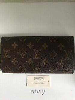 Louis Vuitton Ladies Wallet Purse Authentic New In Box Unwanted Gift