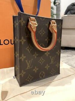 Louis Vuitton Petit Sac Plat Monogram New In Box 100% Authentic