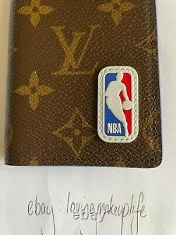 Louis Vuitton X NBA Monogram Canvas Pocket Organizer New IN BOX Authentic LV
