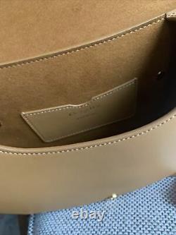 MEDIUM DIOR BOBBY BAG Dark Tan Box Calfskin RP $ 4600 Authentic LAST Collection