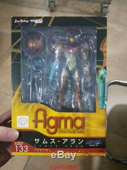 METROID PRIME 3 Authentic figma M133 CORRUPTION Samus Aran Action Figure IN BOX
