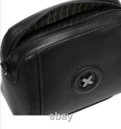 MIMCO Bag Fantasy Leather Black Cross Body Hip Clutch BNWT Authentic RRP$199 NEW