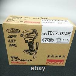 Makita TD171DZ Impact Driver TD171DZAR Authentic Red 18V Only Body Orig. BOX NEW