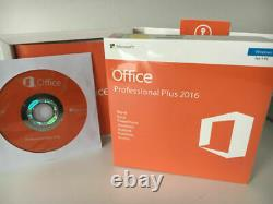 Microsoft Office MS Office 2016 Professional Plus DVD Authentic Retail Box