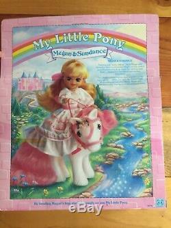 My Little Pony G1 Megan & Sundance Vintage 1985 New Package Box Authentic Rare