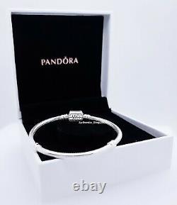 NEW 100% Authentic PANDORA 925 Silver Moments Star Wars Charm Bracelet 599254C00