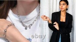 NEW 100% Authentic PANDORA Me 925 Silver Link Necklace DW Bracelet 399001C00