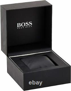 New Authentic Hugo Boss 1513340 Ikon Yellow Gold Tone Chrono Mens Watch