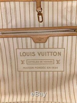 New! Authentic Louis Vuitton Neverfull Gm Damier Azur