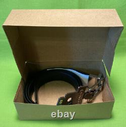 New Authentic Men's Coach Cut To Size Reversible Belt With Gift Box