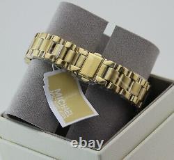 New Authentic Michael Kors Mini Bradshaw Gold Chronograph Women's Mk6267 Watch