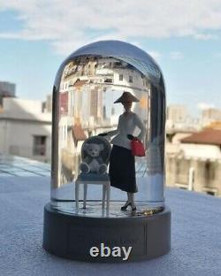 New! DIOR Lady Holiday Snow Globe + Box Harrods London