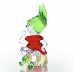 New In Box 100% Authentic Swarovski 2018 CHRISTMAS SANTAS ELF Figurine #5402746