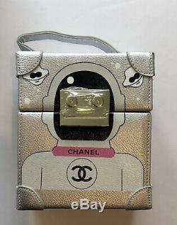 New In Box Limited Edition VIP Chanel Robot Bag Guaranteed Authentic