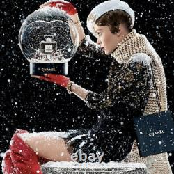 New withBox CHANEL Holiday Snow GlobeAuthentic