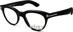 Nib Tom Ford Tf 5378 001 Black Eyeglasses Authentic Rx Frames Box Case