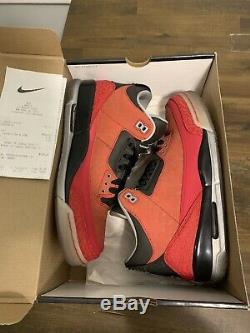 Nike Air Jordan Retro 3 Doernbecher Size 10 DS NEW 100% Authentic With Box