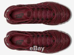 Nike Air Max Plus TN OG TEAM RED 100%AUTHENTIC 852630-602 Men Shoes No Box DS