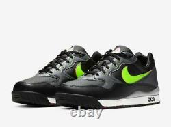 Nike Air Wildwood ACG Black Leather 100% Authentic Mens Trainers Replacement box