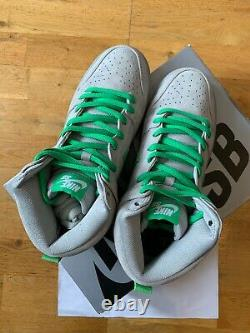 Nike Dunk High Premium Sb Silver Box 2016 Uk7 Us8 New Ds 100% Authentic