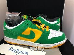 Nike SB Dunk Low Bucks Size 12 DS NEW IN BOX 2004 100% AUTHENTIC