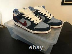 Nike SB Dunk Low FTC UK9 DS NO BOX 100% Authentic