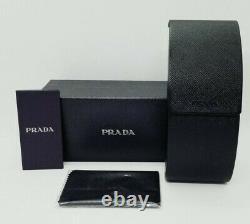 PRADA black/gray CAT EYE PR02VSF-1AB5S0 54 sunglasses! NEW IN BOX! AUTHENTIC