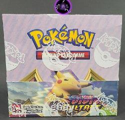 Pokemon Vivid Voltage Booster Box Brand New Factory Sealed Authentic
