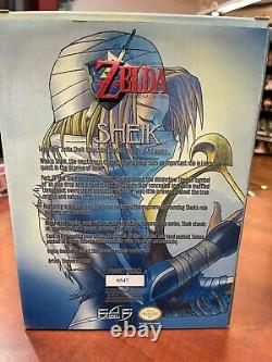 Sheik Legend Of Zelda First 4 Figures F4F Statue With Box Authenticity Card #547