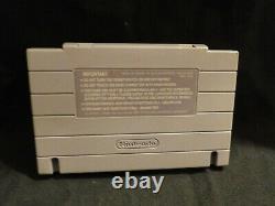 Snes MegaMan X Super Nintendo CIB Complete Authentic Cart, manual, Dust, NEW Box
