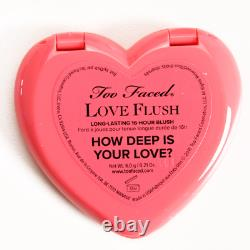 TOO FACED Love Flush Long Lasting Blush HOW DEEP IS YOUR LOVE AUTHENTIC NO BOX