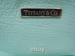 Tiffany & Co makeup cosmetic leather small bag New with Box & Authentic