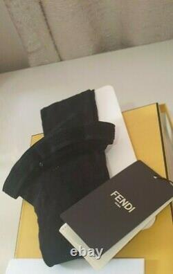 100% Authentic Fendi Logo Collants Bas Taille Small Nouveau Dans La Boîte