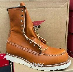 100% Authentic Red Wing 877 Bottes Irish Setterwork New In Box Made USA 10877