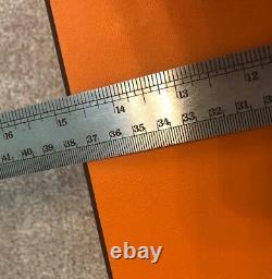 100% Authentique Hermes Vide Boîte Birkin 18 X 15 X 4,5 Pouces