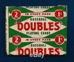 1952 Carte Mantle Scellée Chase Box-22 + Vintage Pack + Carte Classé +2 Cartes 1950/6