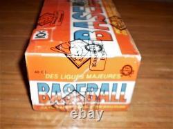 1976 Baseball Opc (48-packs) Boîte À Cire Pleine Non Ouverte, Rare